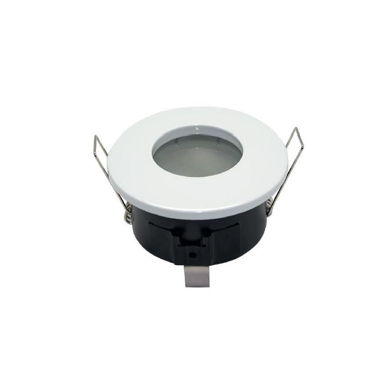socle etanche blanc pour GU10 ou MR16