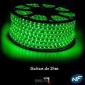 Ruban LED 50 mètres vert