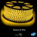 Ruban LED 50 mètres or