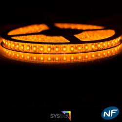 Nouveau Kit Ruban 3528/120 LED/ Mètre Professionnel 5 Mètres or pour intérieur (IP65)