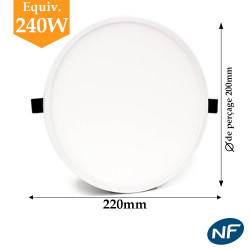 Downlight LED EPISTAR 30W blanc neutre