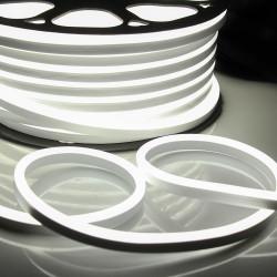 """Ruban LED """"néon flexible"""" Professionnel EPISTAR 2835 120 LED/m de 50 mètres blanc Froid étanche (IP68)"""