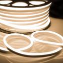 """Ruban LED """"néon flexible"""" Professionnel EPISTAR 2835 120 LED/m de 50 mètres blanc Chaud étanche (IP68)"""