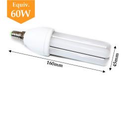 Ampoule LED E14 8W angle 360 degrès