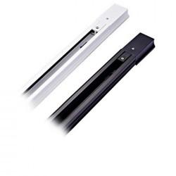 Rail 1 mètre Triphasé de couleur noir ou blanc
