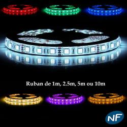LE139 Ruban LED 5050 Professionnel RGB Étanche LED
