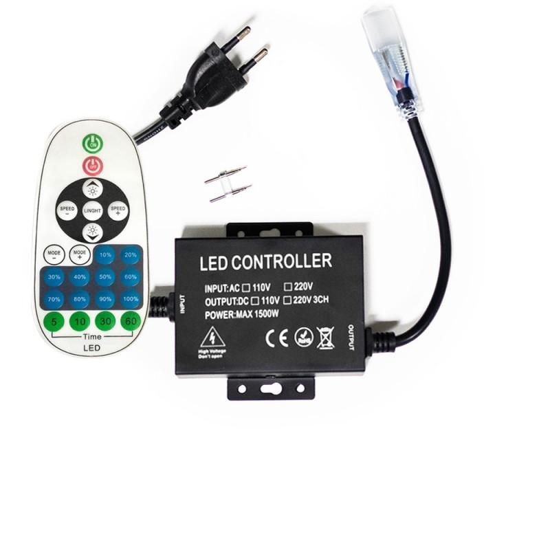 Variateur Professionnel de 1500W pour ruban LED 220V mono-couleur