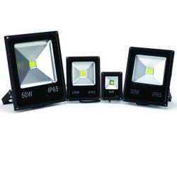 Projecteur LED Intérieur/Extérieur Extra Plat Blanc Froid 10W, 20W, 30W, 50W, 100W (Nouveau !)