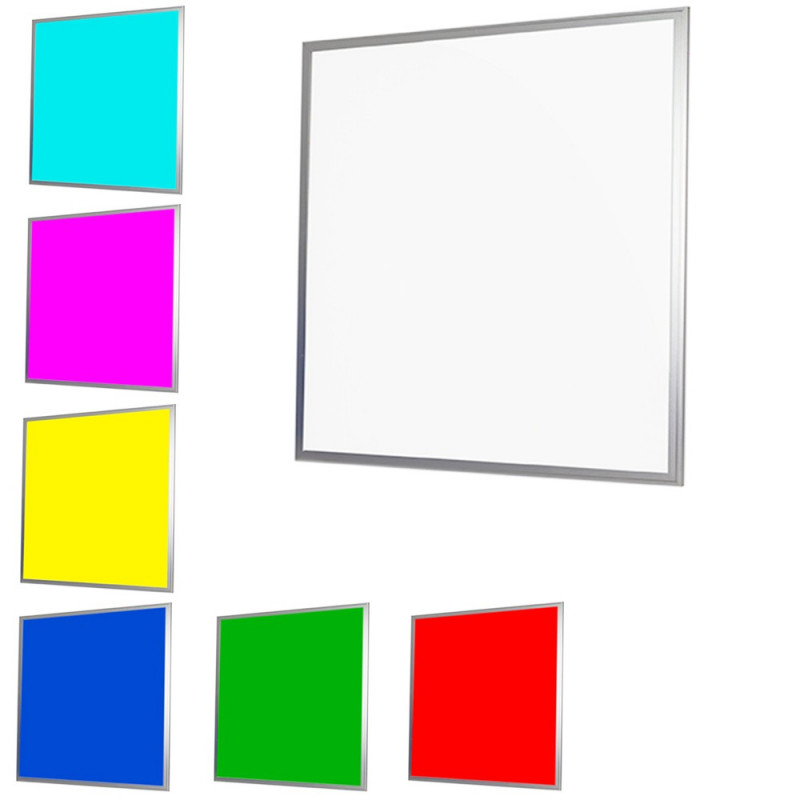 Dalle LED couleur RGB EPISTAR avec télécommande