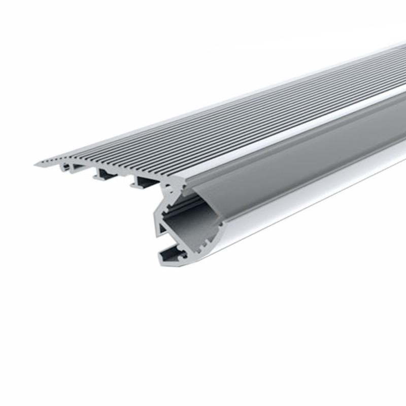 Profilé aluminum 1 mètre spécial escalier