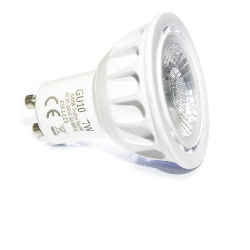 Ampoule LED Professionnelle GU10 7W COB EPISTAR dernière génération