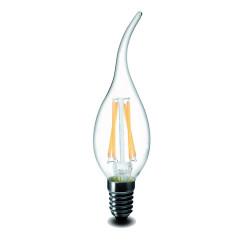 Ampoule LED E14 Flamme 5W Blanc Froid ou Blanc Chaud