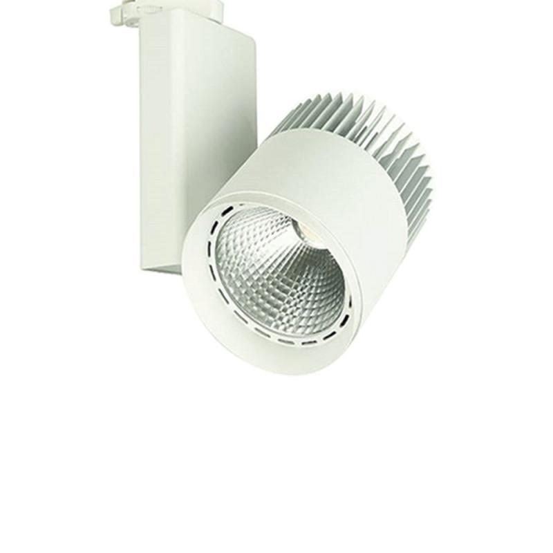 Projecteur spot LED à mettre sur rail Triphasé de 50w blanc neutre 4500K