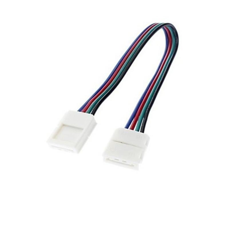 LE131 Connecteur 5050RGB ou 3528RGB sans soudure pour angle