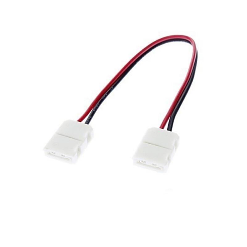 LE127 Connecteur 10 mm 5050/5630/3014 sans soudure pour angle