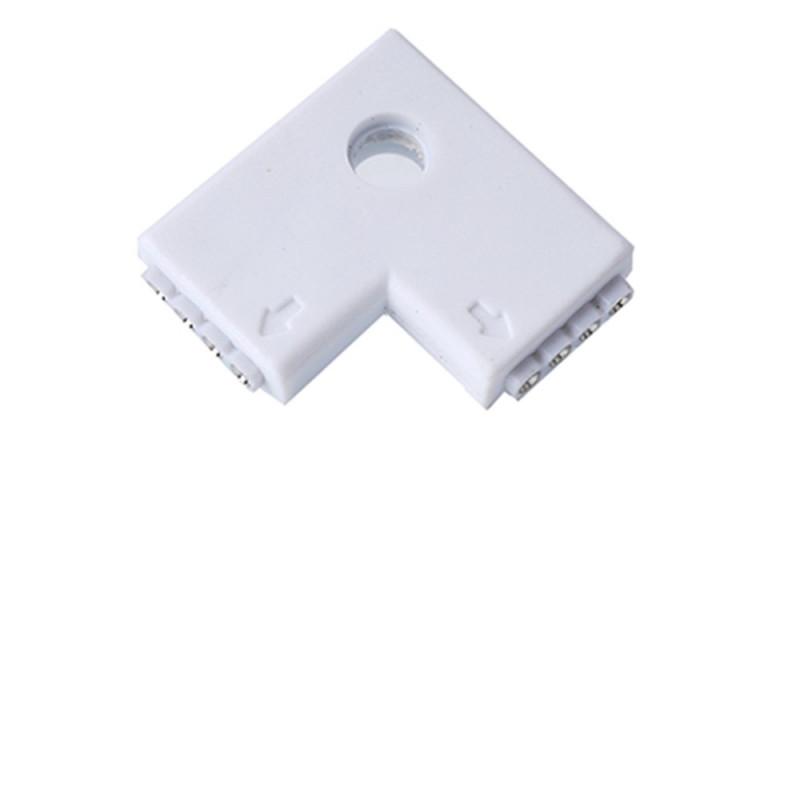 LE106 L pouvant connecter 2 rubans LED entre eux 5050 RGB ou 3528 RGB