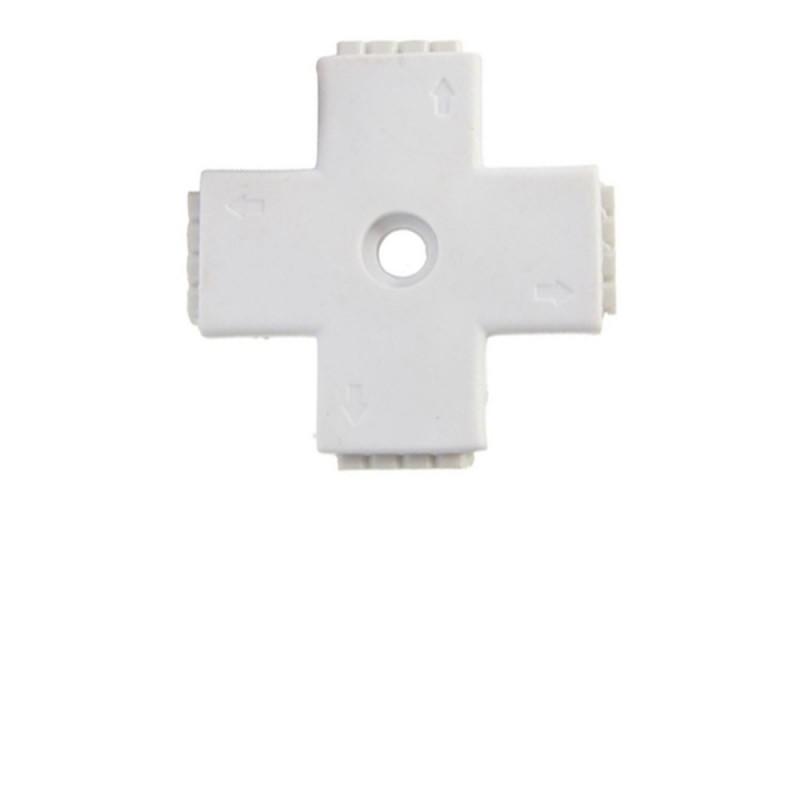 LE105 Croix pouvant connecter 2 rubans LED entre eux 5050 ou 3528