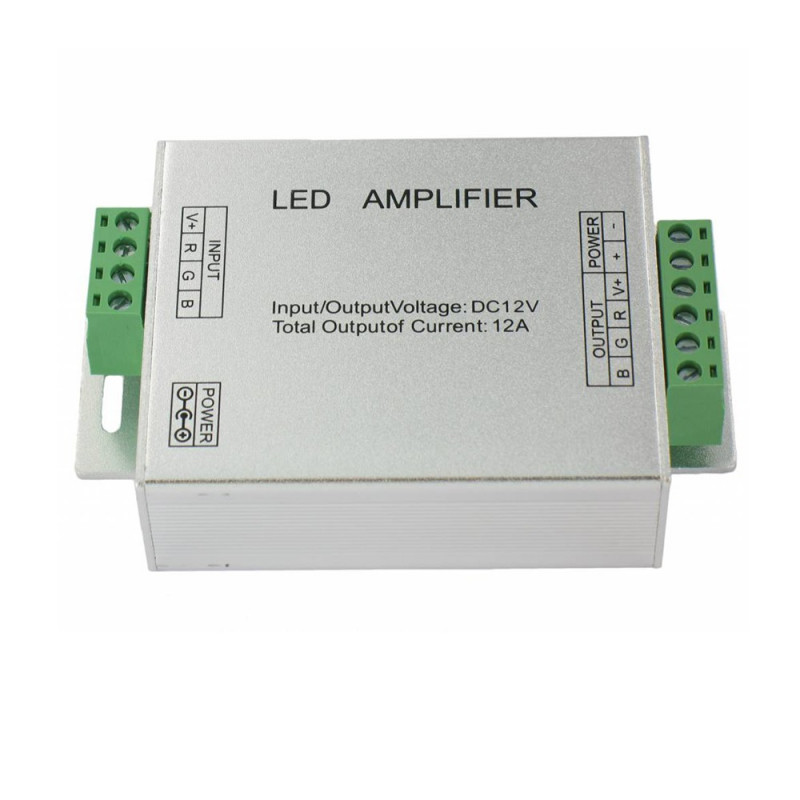 Amplificateur pour ruban LED RGB 5050 ou 3528