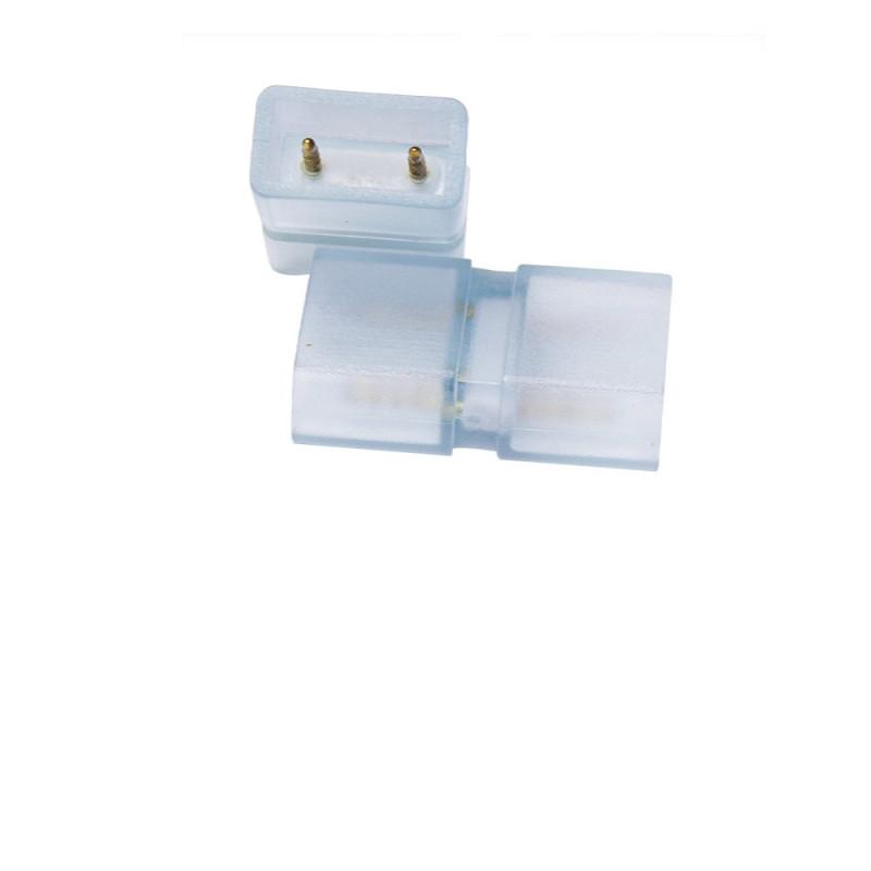 Lot de 5 connecteurs male male 8mm pour ruban 220V