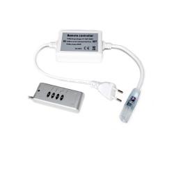 Controleur télécommande radio pour ruban led 220V