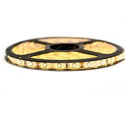 Ruban LED Professionnel 3528 / 60 LED mètre blanc chaud pour intérieur (IP65) 1 ,2,5 ,5,10 mètres aux choix