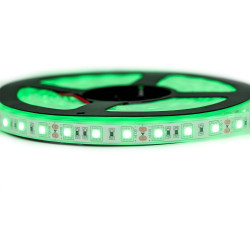 Ruban LED Professionel 5050 / 60 LED mètre vert electrique étanche