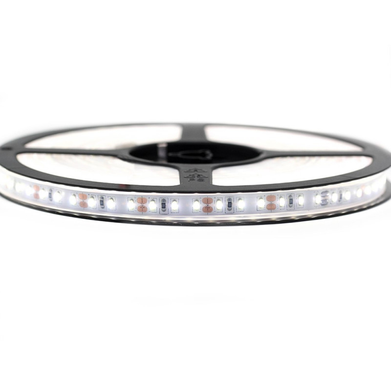 Nouveau Kit Ruban 3014/120 LED/ Mètre Professionnel 5 Mètres Blanc Vif Étanche.