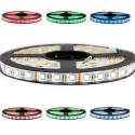 Kit Ruban Professionnel 5050 - 60 leds/m - 5 mètres RGBW (blanc froid) anti-éclaboussure (IP65)