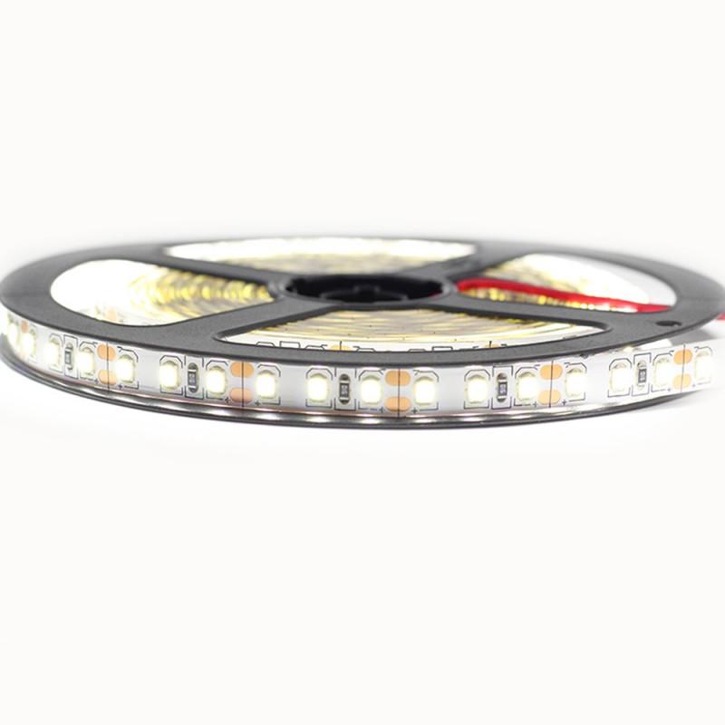 Ruban LED Professionnel 2835/120 12V blanc froid ou blanc chaud IP20