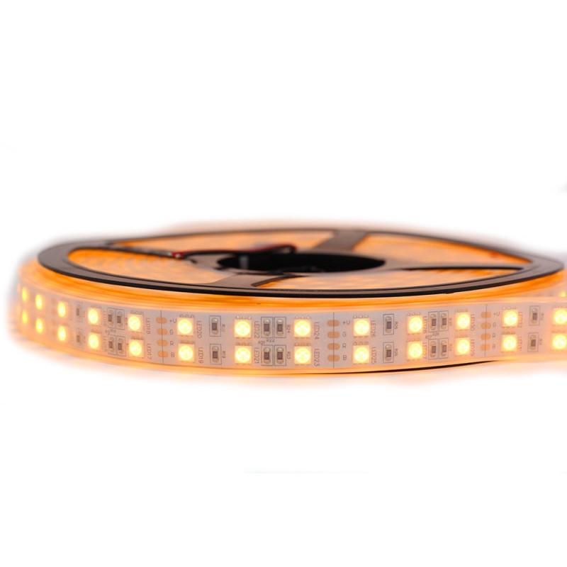 Nouveau Kit Ruban 5050/120 LED/ Mètre Professionnel 5 Mètres or Étanche