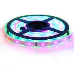 """Nouveau Kit Ruban LED 5050 """"6803 Magic LED """" 5 Mètres RGB Étanche avec Télécommande"""