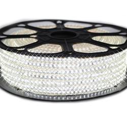 Ruban LED Epistar 3014/120 leds en 25 mètres Blanc Froid étanche (IP68)
