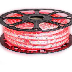 Ruban LED 50 mètres rouge