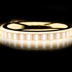 Nouveau Kit Ruban 5050/120 LED/ Mètre Professionnel 5 Mètres Blanc chaud Étanche (IP68)