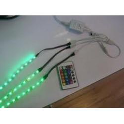 LE104 Connecteur 3 Rubans LED pour 5050 RGB et 3528 RGB
