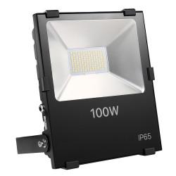 Projecteur LED Intérieur/Extérieur Extra Plat Blanc Froid 100W