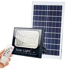 Projecteur extra plat LED Solaire Blanc Froid de 25W,40W,60W au choix étanche (IP65)