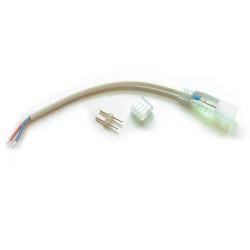 """Adaptateur pour Ruban LED professionnel """"néon flexible"""" 12V Mono Couleur"""