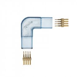 Connecteur d'angle en L pour ruban LED 220V 5050 RGB 25 ou 50 mètres