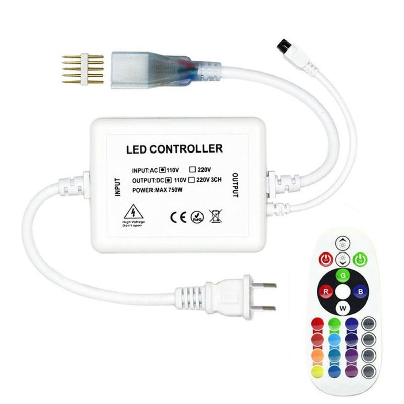 Controleur télécommande pour ruban LED 220V