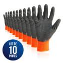 10 paires de gants DIEGO