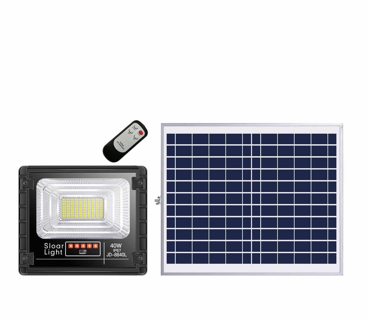Eclairage Solaire Pour Tonnelle projecteur solaire led blanc froid intérieur/extérieur extra plat - top24h