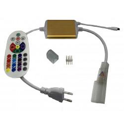 Controleur télécommande pour néon flexible LED 220V