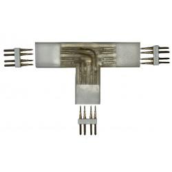Connecteur T pour ruban LED 220V RGB