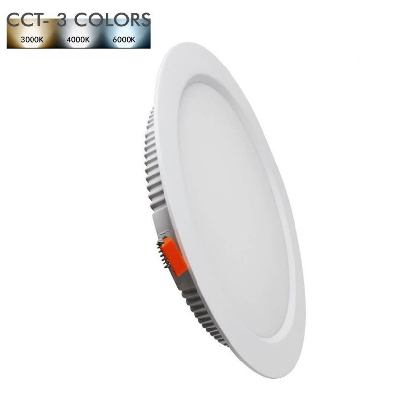 Downlight 30W avec bouton pour choisir la température de couleur