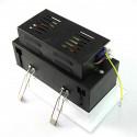 Projecteur 2 X 30W orientable blanc neutre