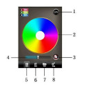 Controleur RGB wifi pour Iphone ou Ipad