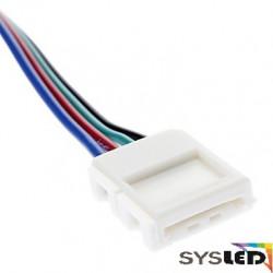 LE132 Connecteur 5050 ou 3528RGB avec soudure pour angle