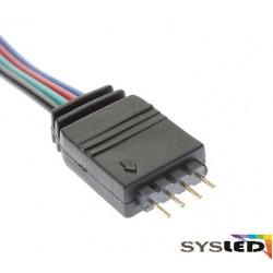 LE136 Cable avec connecteur male pour 5050