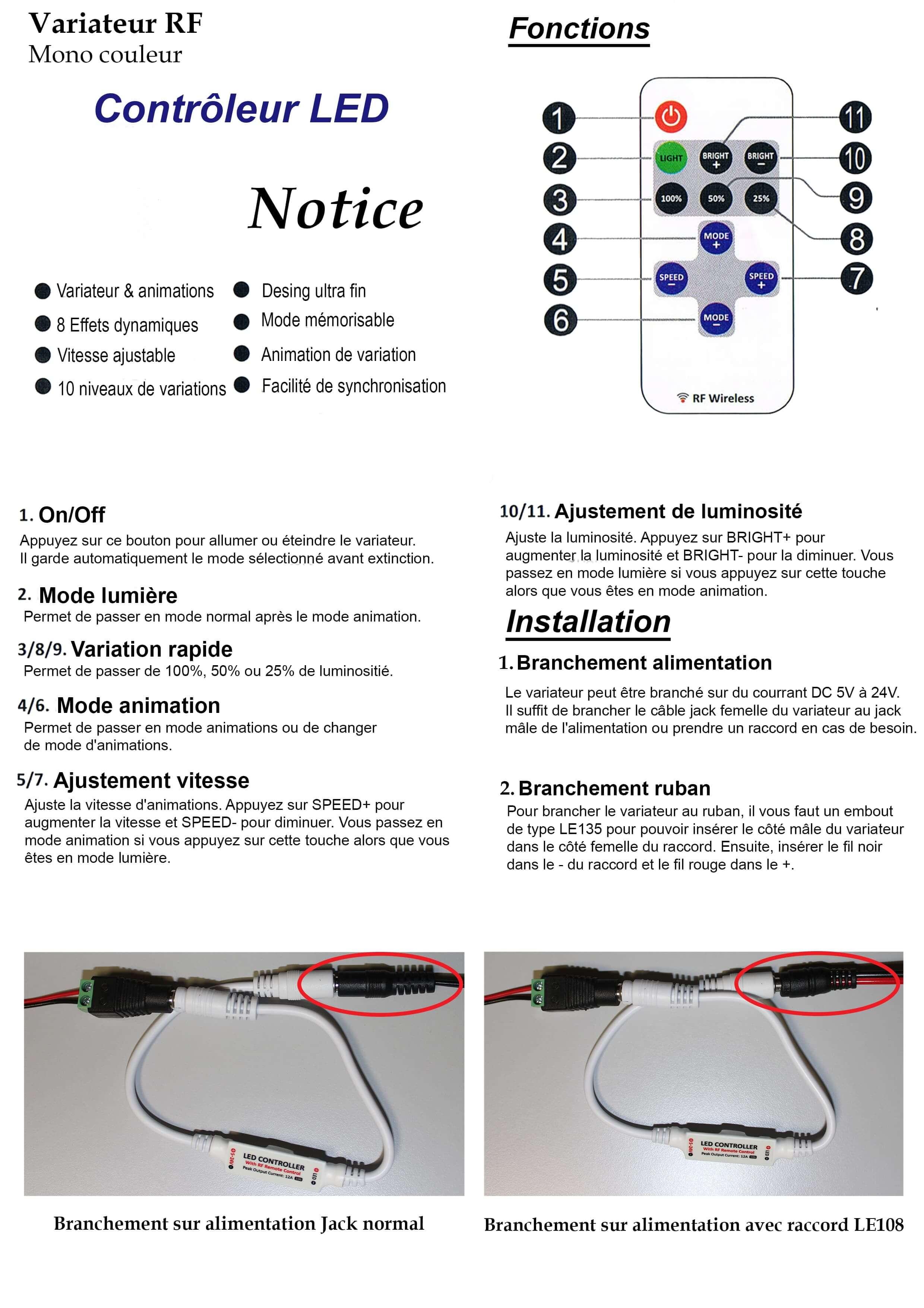 Notice controller LE149